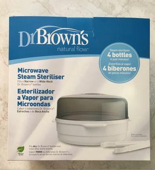 Esterilizador para microondas dr brown's