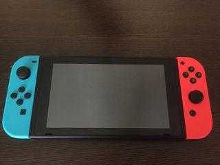 Nintendo Switch (Azul y Rojo). Nueva.