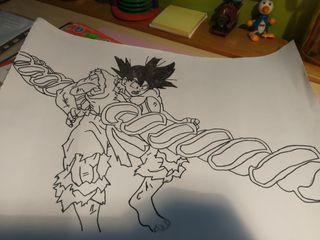 dibujos dragon ball