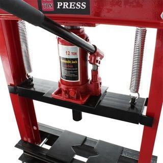 Prensa hidráulica 12T Prensa taller Fuerza presión