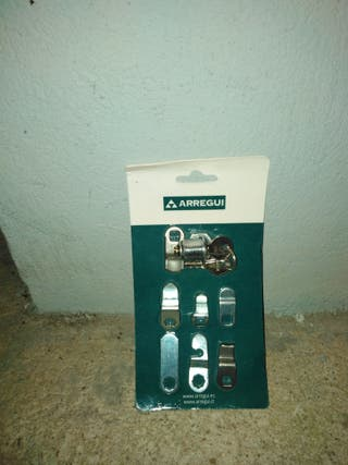 Cerradura de buzon con dos llaves