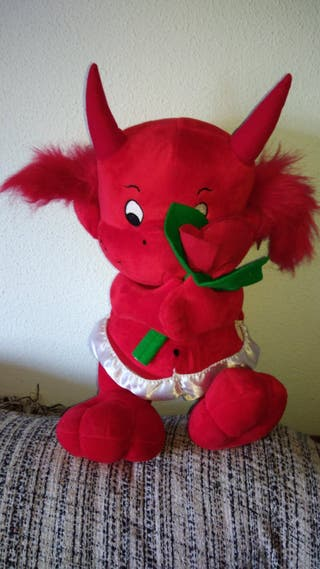Peluche Diablo rojo