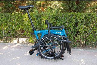 bicicleta plegable escucho oferta