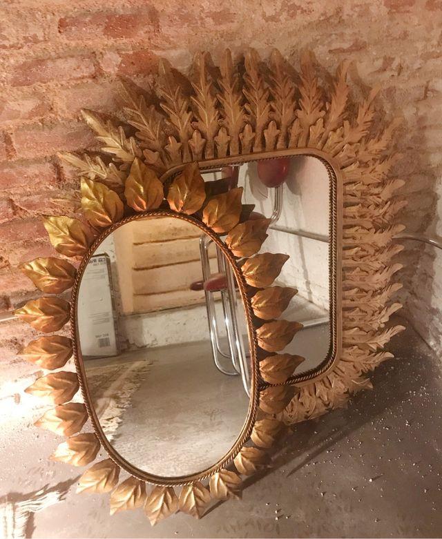 Espejo vintage SOL ovalado