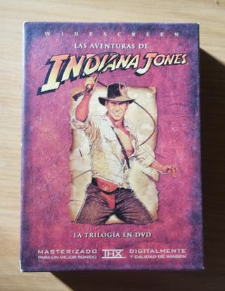 Colección Indiana Jones en dvd