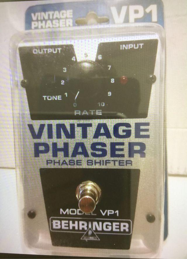 Pedal Behringer Phaser mod. VP1