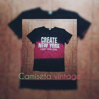 camiseta vintage..