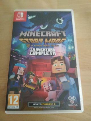 Videojuego Minecraft Nintendo Switch