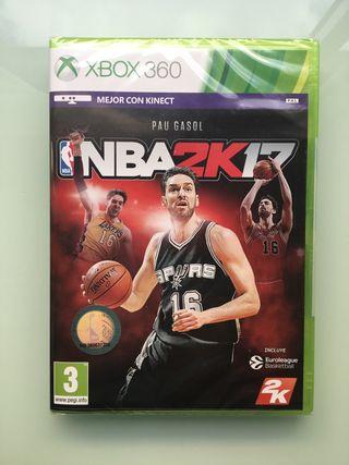 NBA2K17 Xbox 360 nuevo