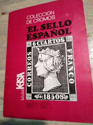 ALBUM CROMOS COMPLETO EL SELLO ESPAÑOL - KEISA