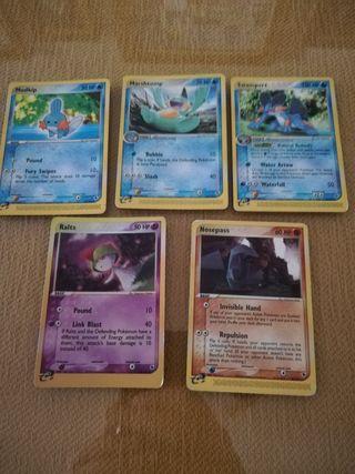 Cartas Pokémon escucho ofertas
