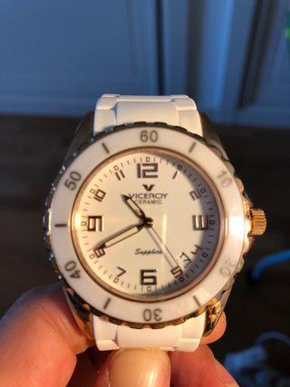 Reloj viceroy ceramic blanco en perfecto estado