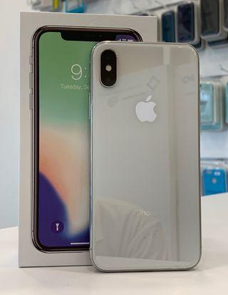 iPhone X 64Gb. 1 año garantía