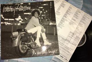 Vinilo LP de WHITNEY HOUSTON