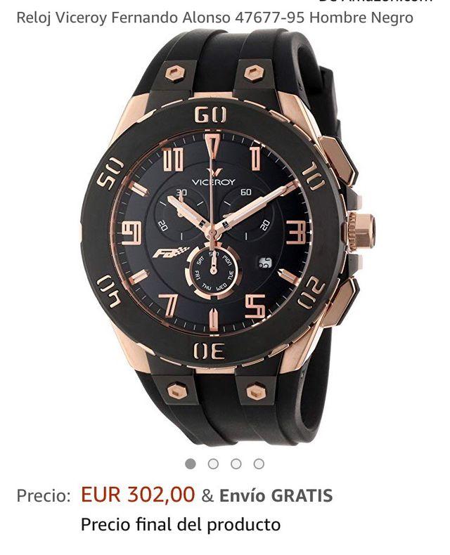 9b277f55412e Reloj viceroy fernando alonso de segunda mano por 125 € en ...