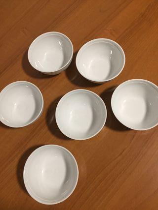 cuencos / bol porcelanas Bidasoa