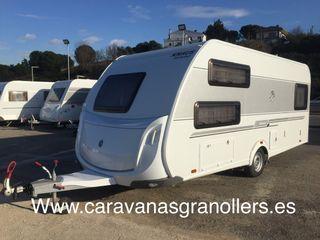 Caravana knaus sudwind 500 mover aire acondicionad