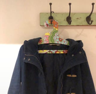Hollister horn buckle coat
