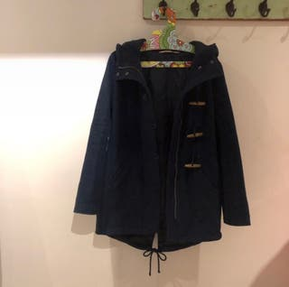 Hollister horn buckle coat