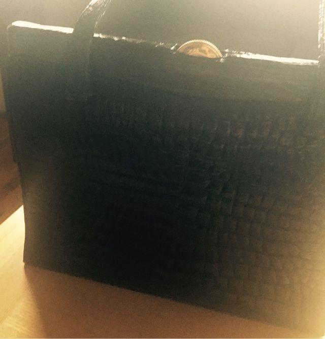 Real crocodile skin bag