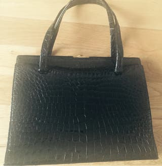 Real crocodile skin bag