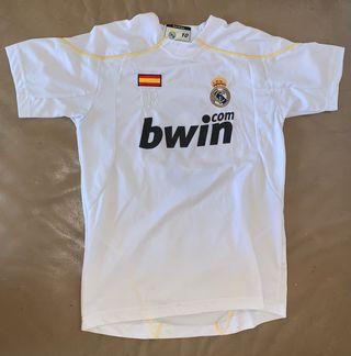 Maillot foot réal Madrid ronaldo 10 ans