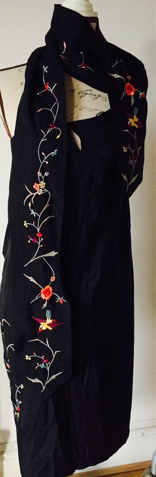 Pure silk dress