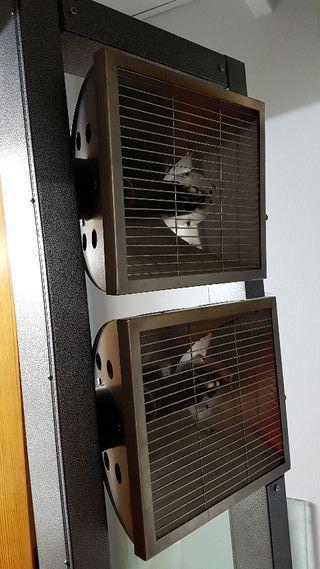 Estufa calefactora para terraza