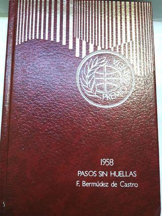 Pasos sin Huellas, Premio Planeta de 1958.