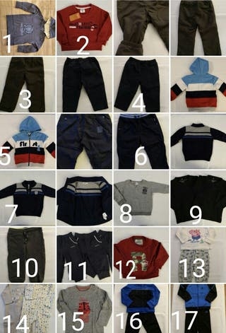 ropa bebe 18 meses