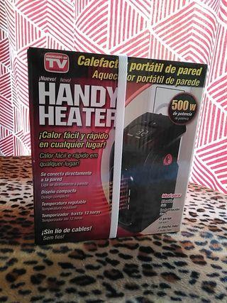calefactor portátil de pared