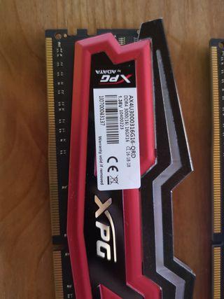 Memoria RAM DDR4 32gb (2x16)