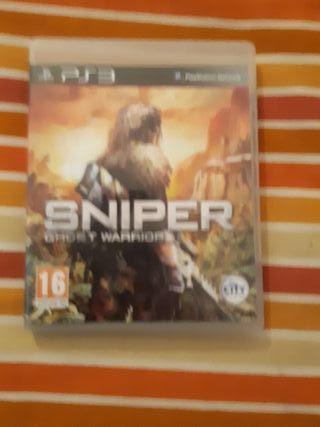 juego ps3 SNIPER