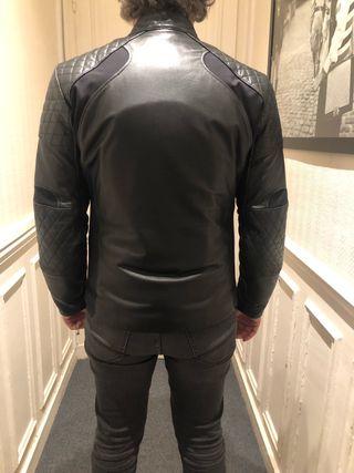 Alpinestars leather motorbike jacket Road jacket