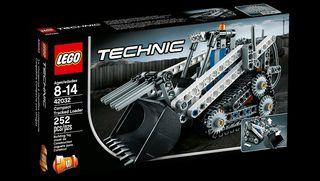 Lego Technic 42032. Cargadora Compacta con Orugas