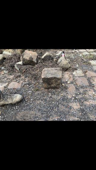 Gritstone cobble