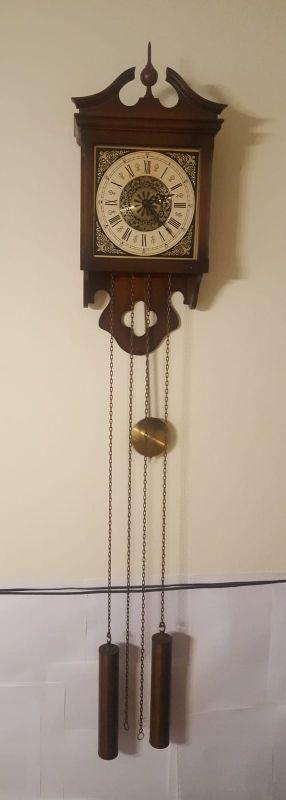 Antiguo Reloj De Pared Carrilon