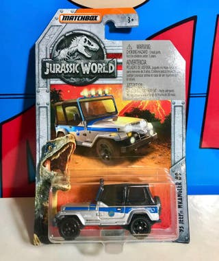 MATCHBOX Jurassic World '93 Jeep Wrangle
