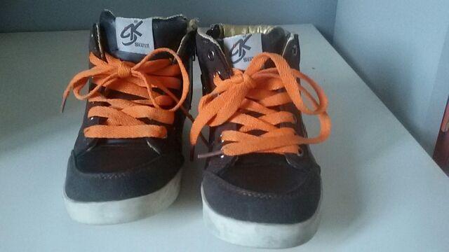 zapatillas semi bota niño