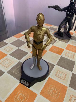 Figura C3PO star wars con luz