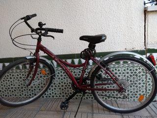 Bicicleta de paseo Urban life Boomerang