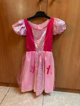Disfraz princesa, 4 años