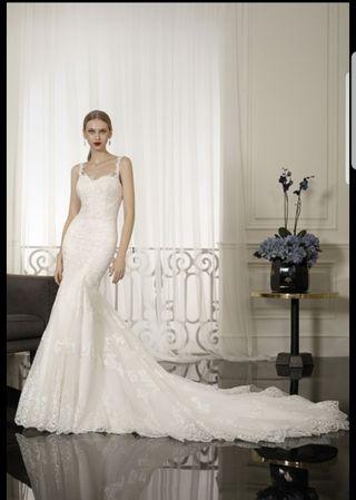 Vestido novia Cabotine