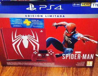 Playstation 4 Slim Edición Limitada Spiderman