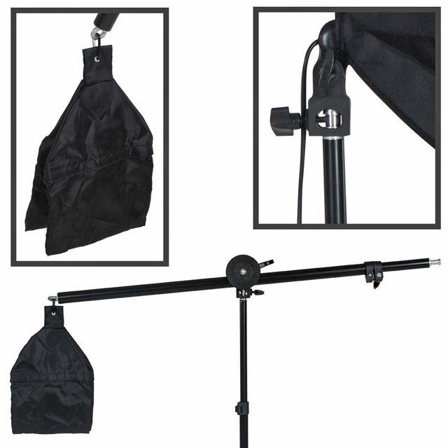 kit de iluminación de fotografía completo