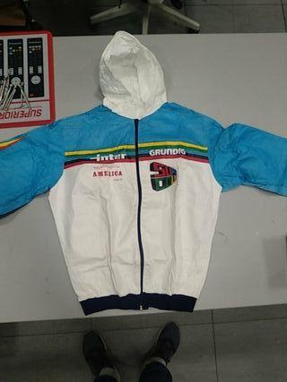 chaqueta de ciclista años 70 tamaño niño