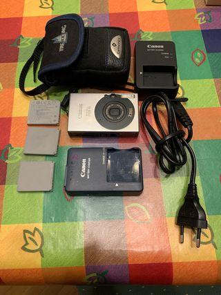 Regalo- Canon Ixus 70, 3 baterias y Memoria 2GB