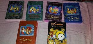 los Simpsons temporadas 2, 3, 4 y6
