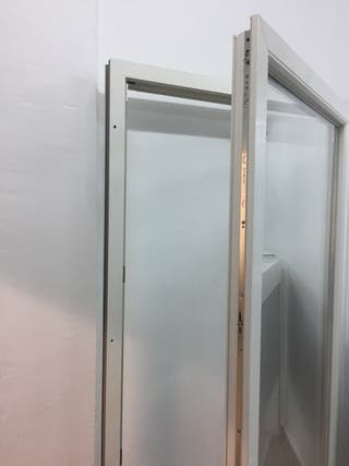 Puerta pvc abatible blanca ancho 102x212 alto