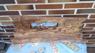 Balda/estantería de madera